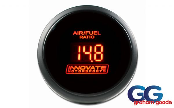 Innovate AFR Air Fuel Ratio Gauge Only DB Red INN3794